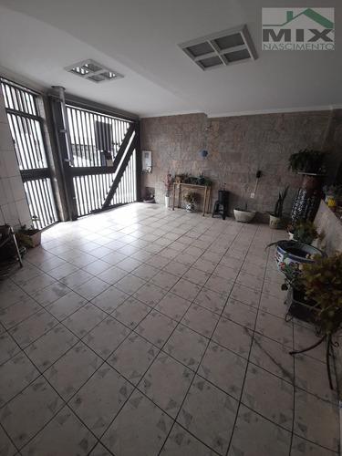 Casa Sobrado Em Vila Florida - São Bernardo Do Campo, Sp - 3631