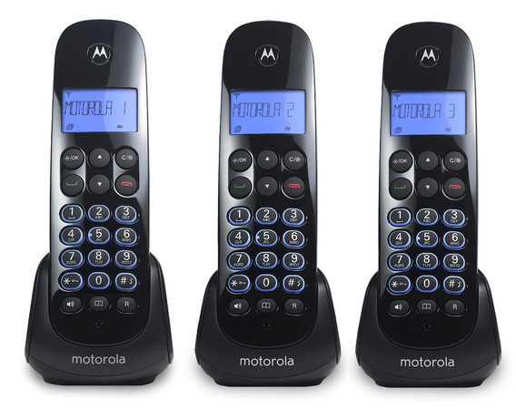 Teléfono Inalámbrico M750-3 Ca Motorola Mdx Imports - M750-3