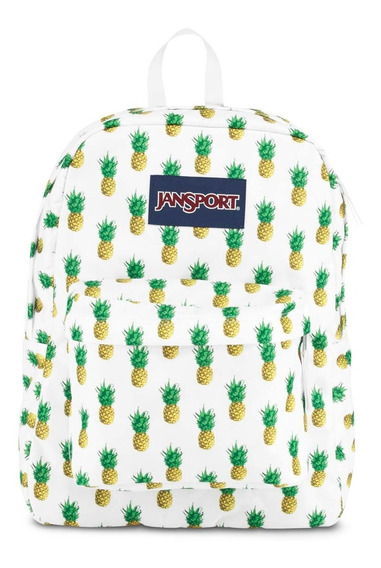 Mochila Jansport Modelo Superbreak Ananas Original