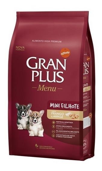 Ração Gran Plus Menu Filhote Mini/pequeno 10,1kg