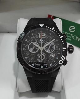 Reloj Election-caballero-cronometro -caucho