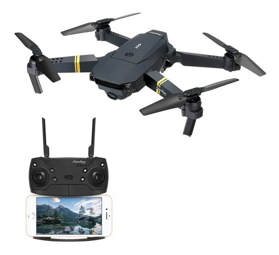 Drone Eachine E58 Camera Wifi Fpv Dobravel Copia Mavic Pro