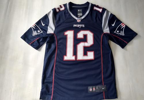 Jersey Patriotas Tom Brady Original - $ 1,200