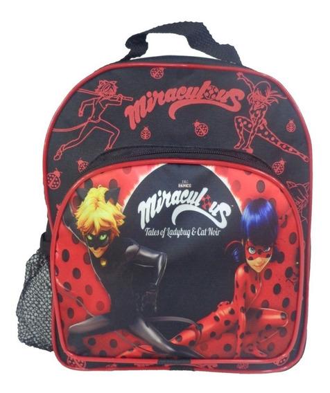 Mochila Pequena Sem Rodinha Ladybug Miraculous