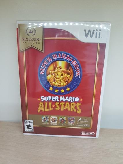Super Mario All Stars Wii / Wii U Novo Lacrado Fisica Raro