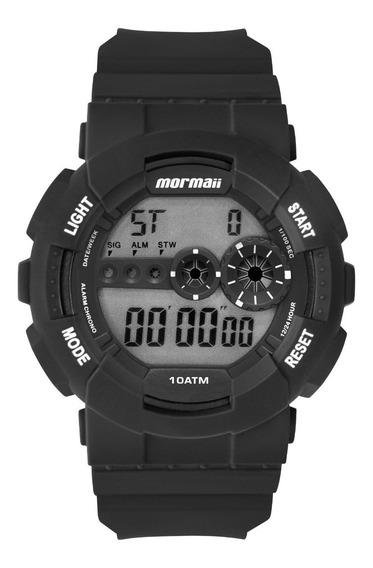 Relógio Mormaii Preto Redondo Masculino - Mo9210aa/8p