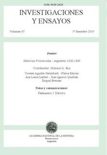Revista Investigaciones Y Ensayos N° 67