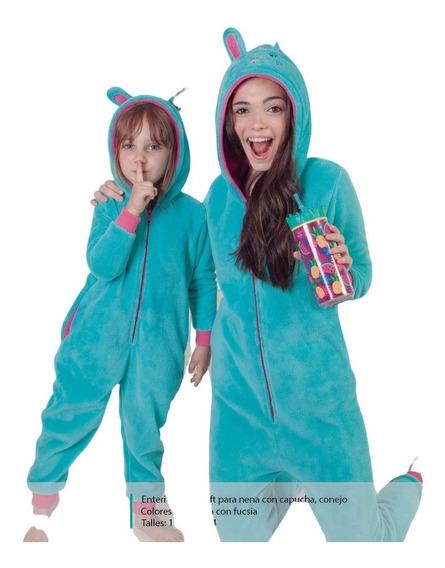 Pijama Invierno Mono, Enterito Polar Nena - Nere Maitea 7510