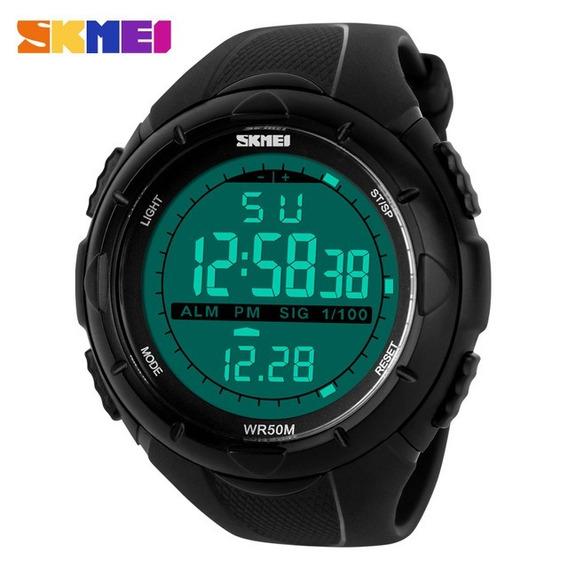Relógio Masc Esporte-militar Skmei 1025 À Prova D