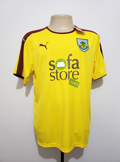 Camisa Futebol Oficial Burnley Inglaterra 2015 Away Puma G