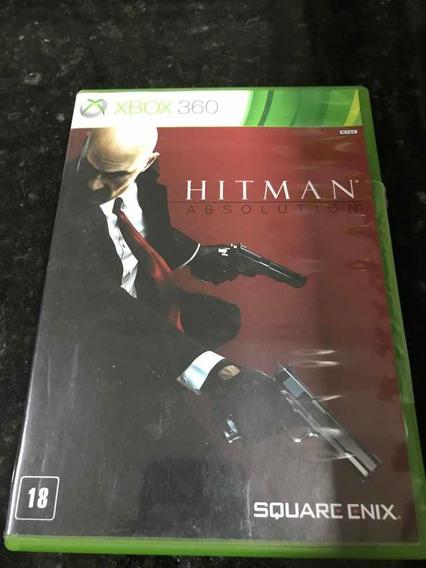 Jogo Xbox 360 Hitman Absolution Original Mídia Física