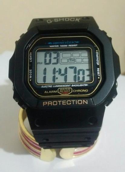 Relógio Digital Militar Camuflado Ou Preto Resistente
