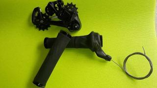 Kit Câmbio E Gripshift Sram Xx1 Black 12v