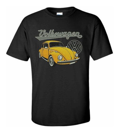 Camiseta Bordada + Boné Fusca Volkswagen