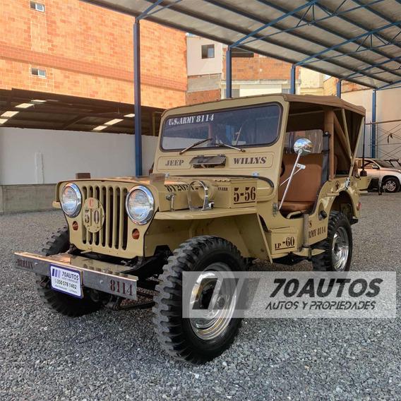 Jeep Willys Cj 6