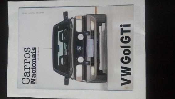 Fascículos Revista Clássicos Nacionais - Vw Gol Gti