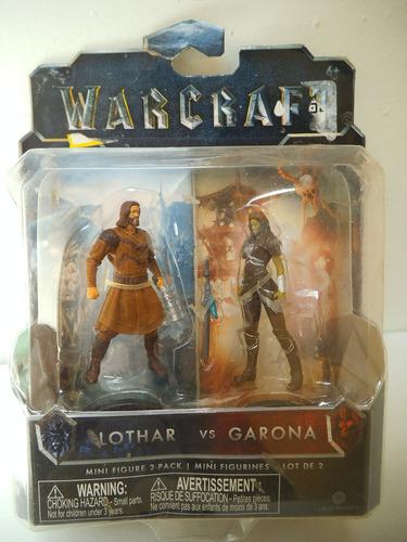 Mini Lothar Vs Garona Warcraft Jakks