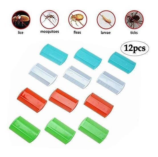 Binaryabc Plástico Pulgas Piojos Peines, Peine Doble Cara, D