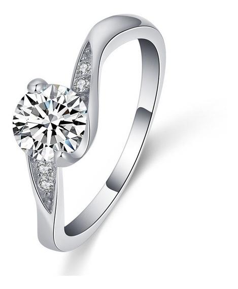 Anillo Compromiso Perfect Love Ak Jewelry Plata 925 Oro 18k