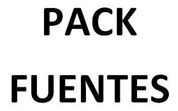 Pack Fuentes De Futbol
