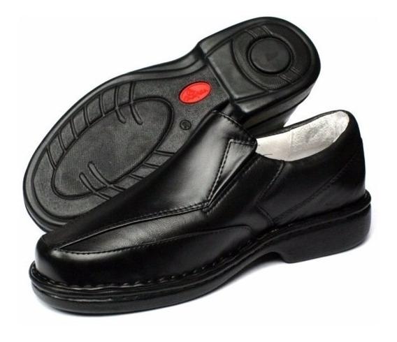 Sapato Linha Conforto Semi Ortopédico Indicado P Diabéticos