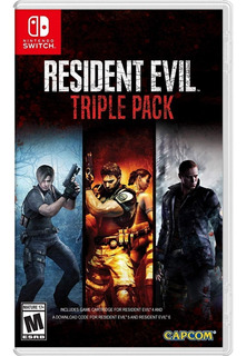 Resident Evil Triple Pack - Nintendo Switch- Juego Fisico