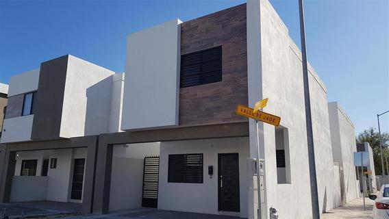 Casa En Renta En Apodaca Col. Estancias Valle De Plata Privada Residencial (30-cr-1252 Sil)