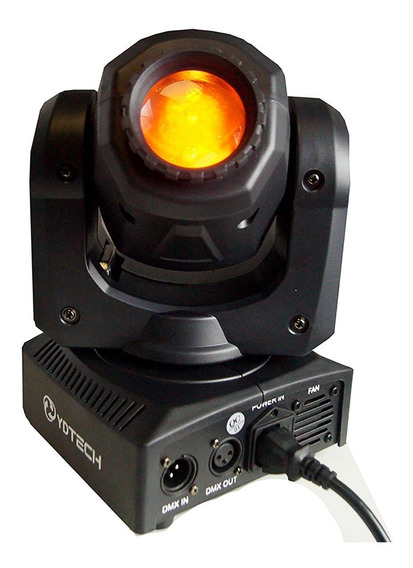 Kit 4 Mini Beam Moving Head Led 30w Cree Led Rgbw Dj 82043