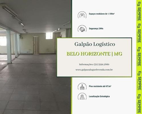 Imagem 1 de 30 de Casa Com Galpão Para Alugar, 1.129 M² - Floresta - Belo Horizonte/mg - Ga1230