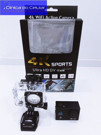 Action Camera Go Sport Pro Wi-fi Lcd 4k 1080p Ultra Hd