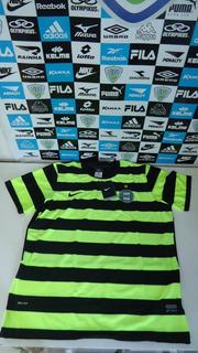 Camisa Coritiba Green Hell Juvenil Xl Original Nike Nova