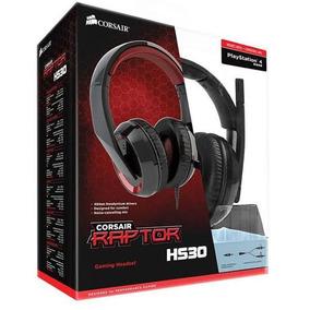 Kit Gamer Headset Corsair E Mousepad Corsair (usado)