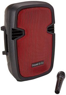 Bocina Amplificada Power Xp-8000rd Bocina, 4200 W, Color Roj