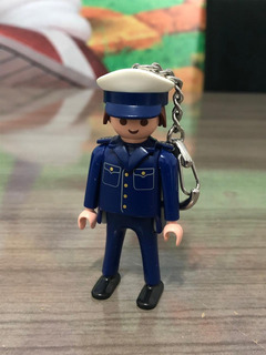 Playmobil Chaveiro Policial