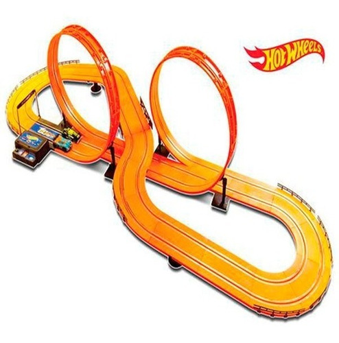 Autorama Hot Wheels Track Set 6,32 M Pista Deluxe Multikids