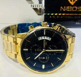 Nibosi Relógios De Pulso Para Homens Marca À Prova D