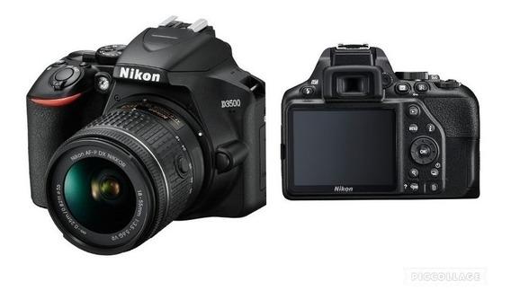 Câmera Nikon D3500 Lente 18-55mm