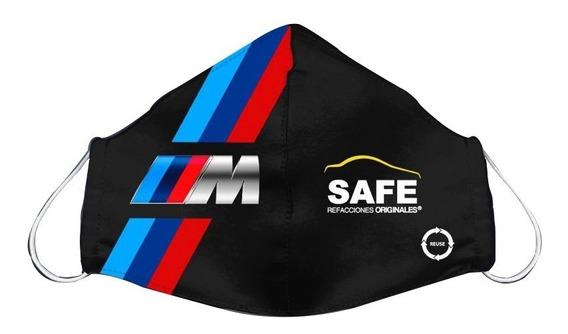 Cubre Boca Bmw Logo ///m Grande Edición Safe Refacciones
