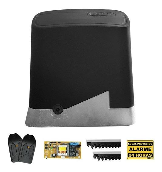 Kit Motor Portão Eletrônico Automatizador Deslizante 1/4 Ppa