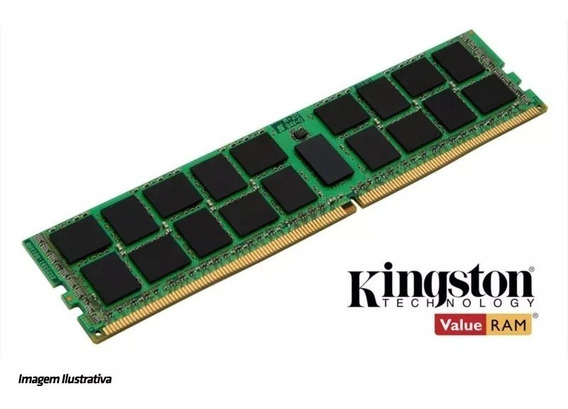 Memória Kingston Kth-pl424e/8g 8gb Ddr4 2400 Ecc - Dell / Hp