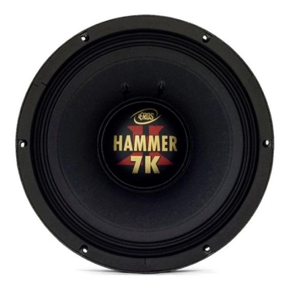 Alto Falante Woofer Eros 12 Pol E12 Hammer 7k 3500w Rms 4 O