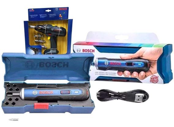 Taladro Desatornillador Atornillador Bosch Go Punta + Regalo