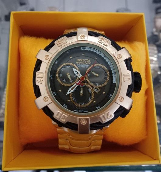Relógio Masculino Dourado Barato