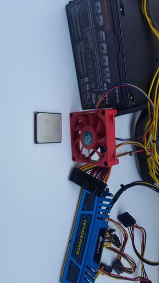 Pc- Combo Fx6100+corsair4gb+termaltak600w
