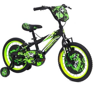 Bicicleta Lion R16 Varon 14198 Ng/ve Siambretta