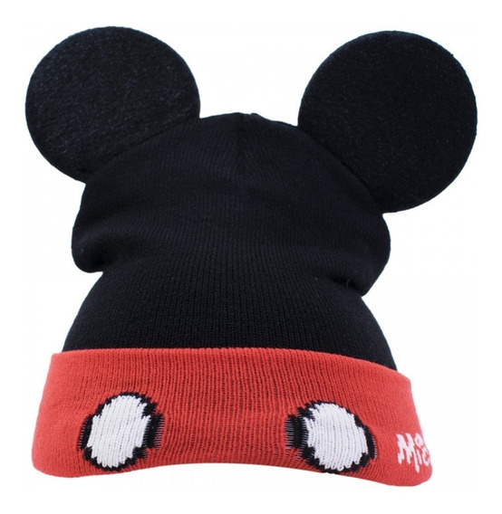 Touca Gorro Infantil Orelhas Mickey Mouse - Disney