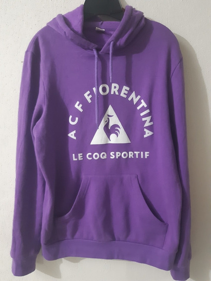 Sudadera Le Coq Sportif Big Logo Fiorentina M