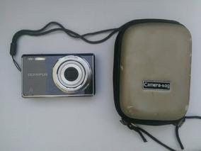 Câmera Digital Com Bateria Recarregável Olympus