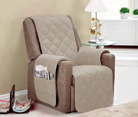 Capa Protetor Para Sofa 1 Lugar Impermeável