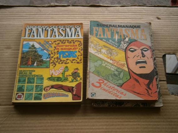 Fantasma Antigos E Raros Almanaques E Superalmanaques